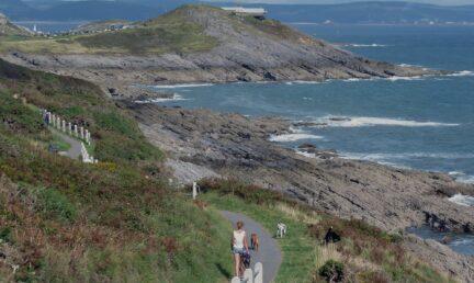 Caswell Bay walk banner